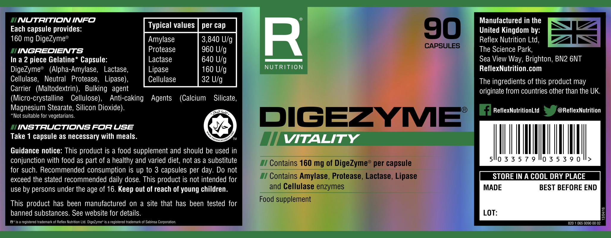 DigeZyme® | Natural Product by Sabinsa Corp