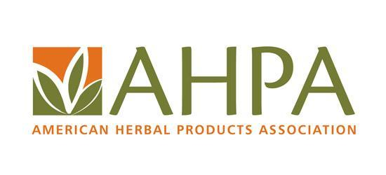 American Herbal Products Association (AHPA)