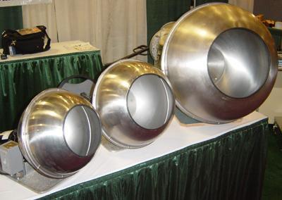 Steel Coating Pans