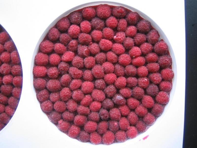 IQF raspberry - Nutritious Foods