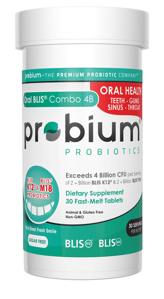Probium® - What's in your gut?® | Oral Blis® Combo 4B