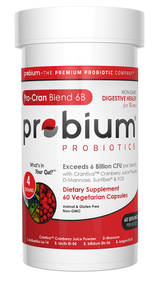 Probium® - What's in your gut?® | Pro-Cran Blend 6B with Crantiva™ Cranberry Juice Powder & D-Mannose