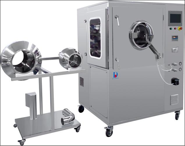 HBG Series exchangeable drum coating machine - HBG series - hljg