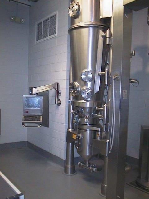 Glatt GPCG 15 SC Fluid Bed Dryer Granulator
