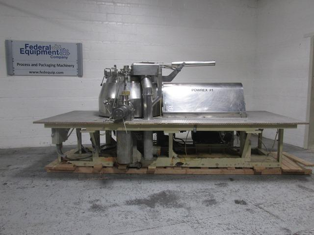 600 Liter Glatt Powrex High Shear Mixer, S/S, Model FM-VG600