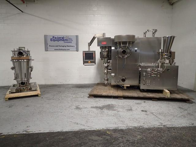 GEA Collette Continuous Granulator Dryer, Model Consigma 25