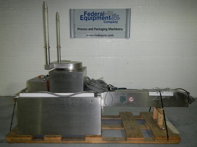 PM400 BOHLE BIN BLENDER, S/S