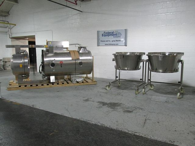 Glatt WST 120 Fluid Bed Dryer, S/S