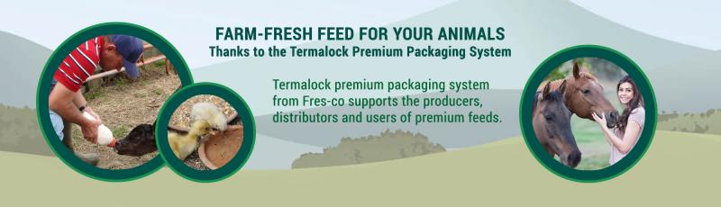 Farm-Fresh Feed for Your Animals | Termalock™ Industrial Sealer