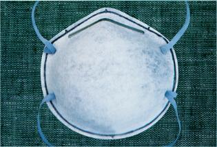 The high filtration dust mask with exhalation valve