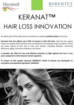 KERANAT, the hair loss solution.