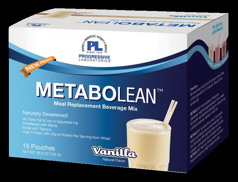 Progressive Laboratories :: Weight Management :: MetaboLean™ Vanilla MRP