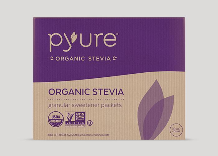 Organic Stevia Sweetener – 1000 Packets | Pyure Brands