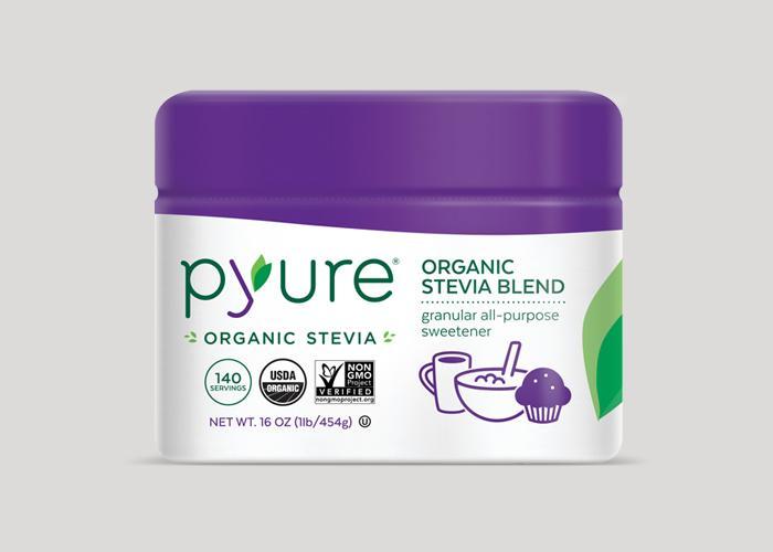 Organic All-Purpose Stevia Sweetener – Scoopable Tub | Pyure Brands