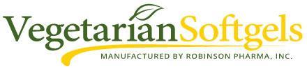 Vegetarian Softgels - Robinson Pharma, Inc.