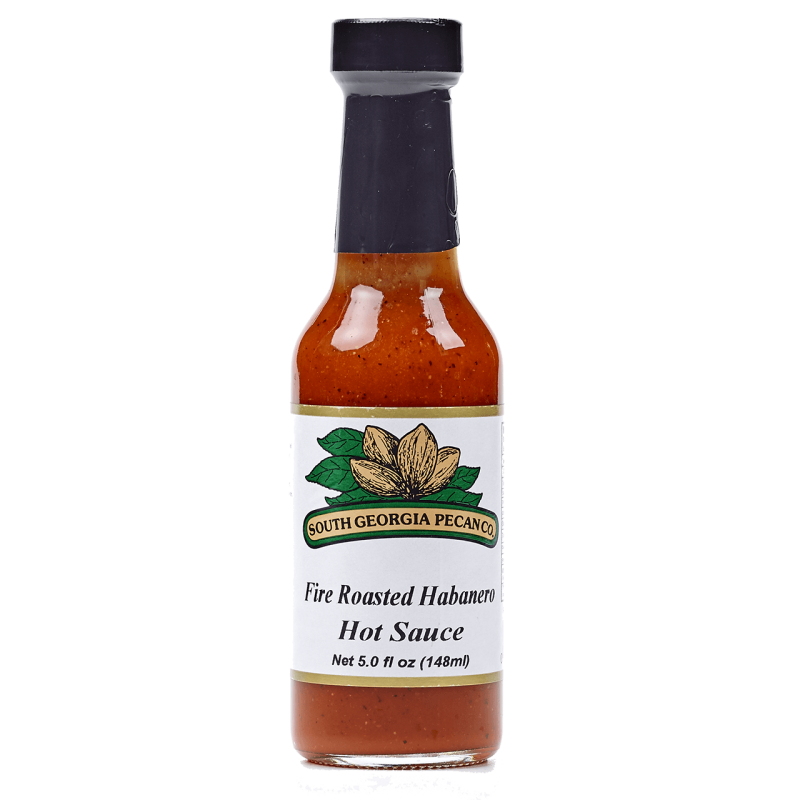 FIRE ROASTED HABANERO HOT SAUCE - 5oz (148ml) - South Georgia Pecan
