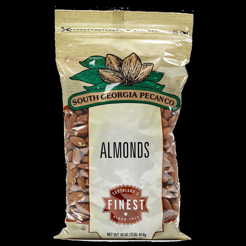 Raw Almonds - 1 Pound Bag