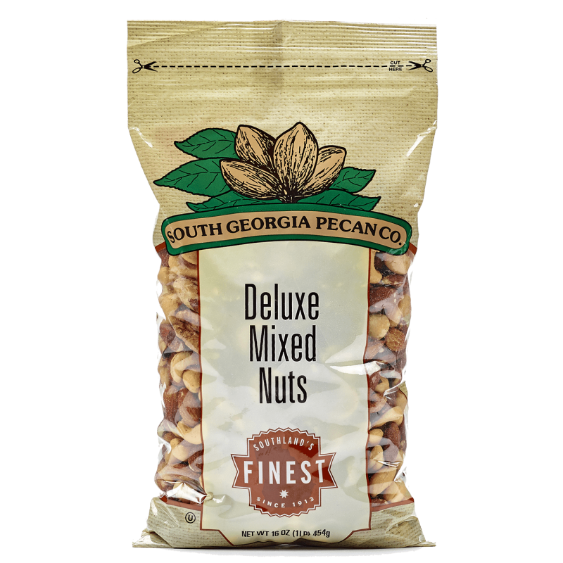 Deluxe Mixed Nuts - 1 Pound Bag