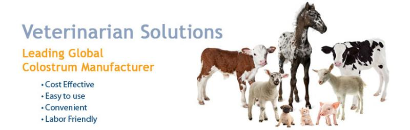 Sterling Technology - Veterinarian Solutions - Leading global colostrum manufacturer, cost effective, easy to use, convenient, labor friendly