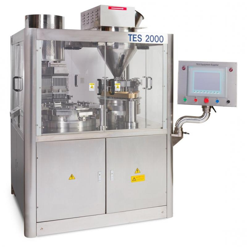 TES-2000 Automatic Capsule Filler – TES Equipment Supplier | Machinery For Dietary Supplement Industry