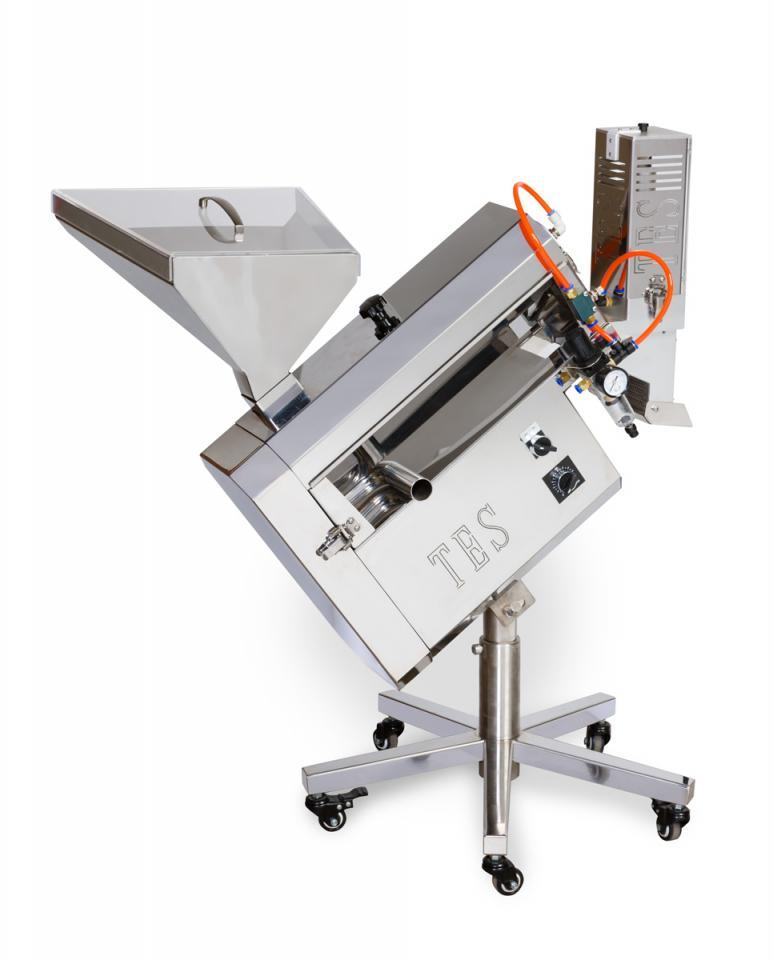 TCP 100– TES Equipment Supplier   Polisher For Dietary Supplement Industry