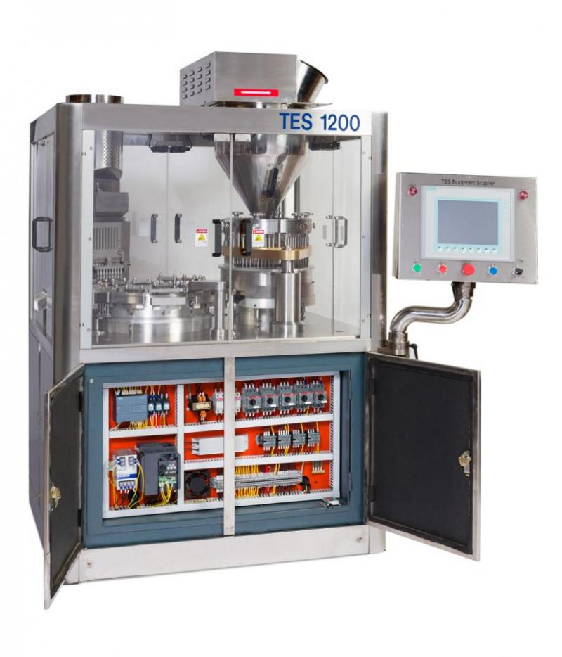 TES-1200  Automatic Capsule Filler – TES Equipment Supplier | Machinery For Dietary Supplement Industry