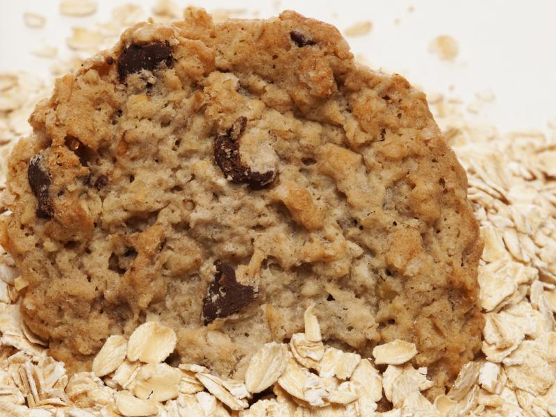 Rich in fiber and gluten free oat flour