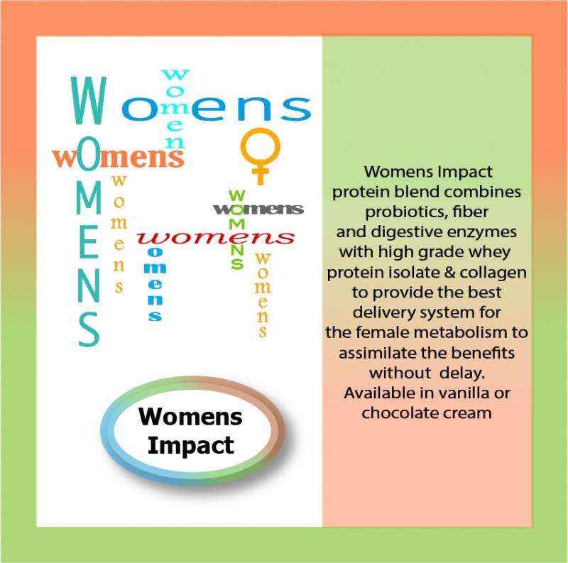 Women's Impact protein blend