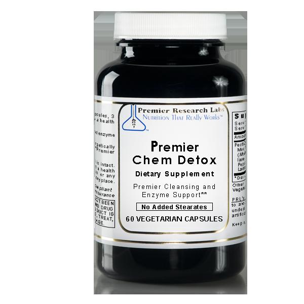 Premier Research Labs Chem Detox for Private Label