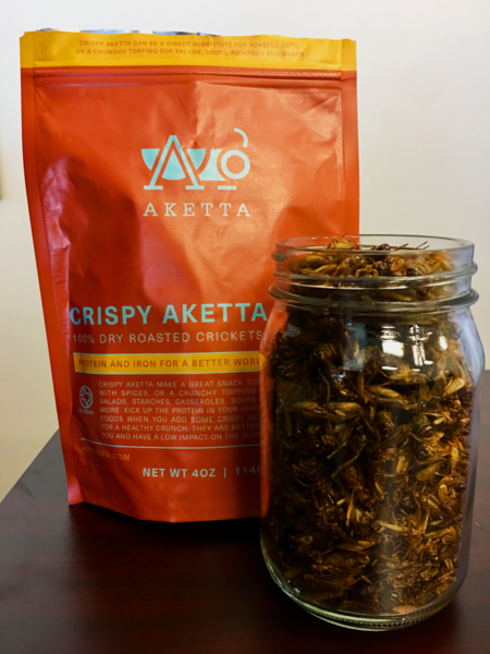 Aketta Whole Roasted Crickets: Entomophagy Is Eating Edible Insects – Aspire
