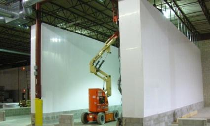 Demountable Partition Walls - Manitowoc, Wisconsin - Extrutech Plastics, Inc.