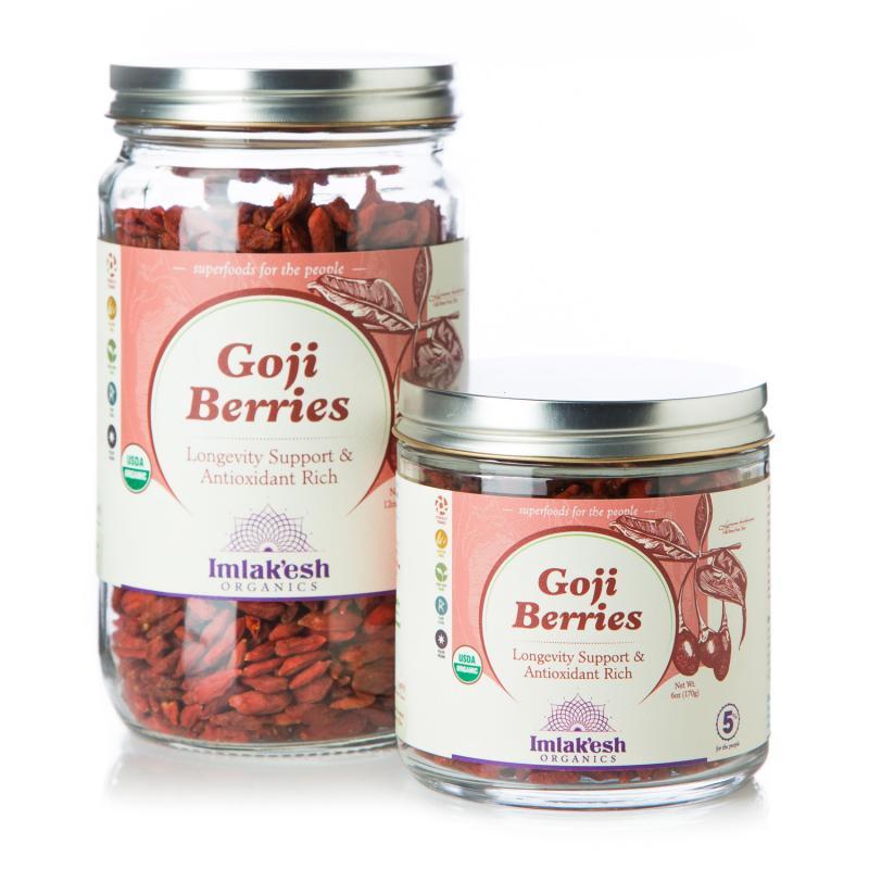 Organic Goji Berries | Imlak'esh Organics