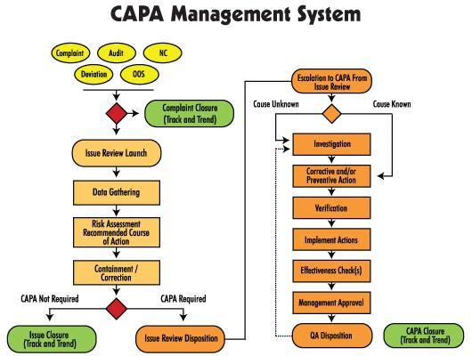 Corrective Actions - CAPA Software Systems
