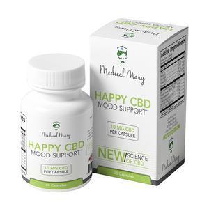 Happy CBD – Mood Support – Medical Mary LLC