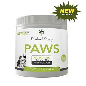 Paws CBD – For Your Pets – Medical Mary LLC