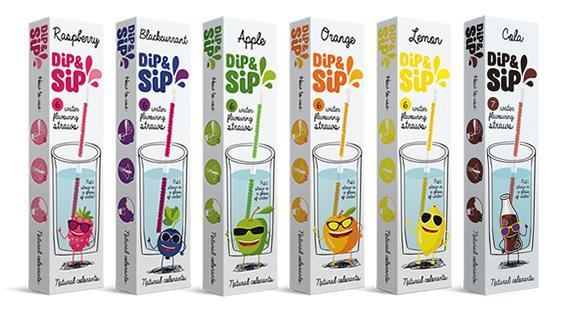 Dip&Sip Flavored Straws - Vitasip   ViteCer Ltd.