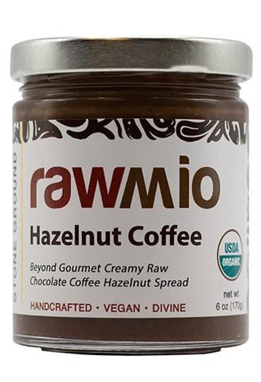 Rawmio Coffee - Beyond Gourmet Raw Chocolate Hazelnut Coffee Spread - 6 oz