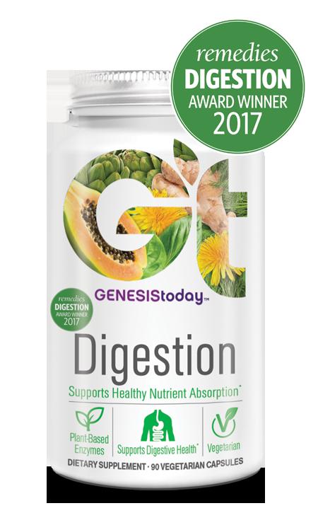 Digestion | Vegetarian Enzymes & More : Genesis Today