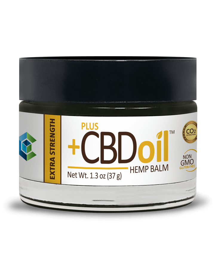 CBD Oil Balm - Extra Strength by Plus CBD Oil™