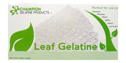 Champion's Leaf Gelatine - Welcome to Champion Gelatine Products