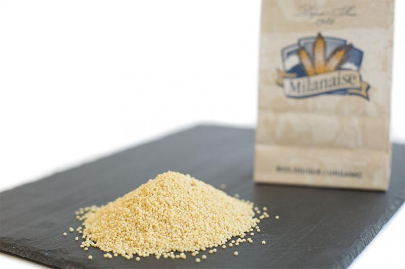 Organic Hulled Millet – La Milanaise