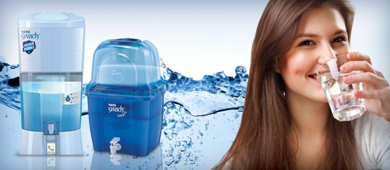 Tata Swach non-electric water purifier - Consumer-products - Products - Tata Chemicals Limited