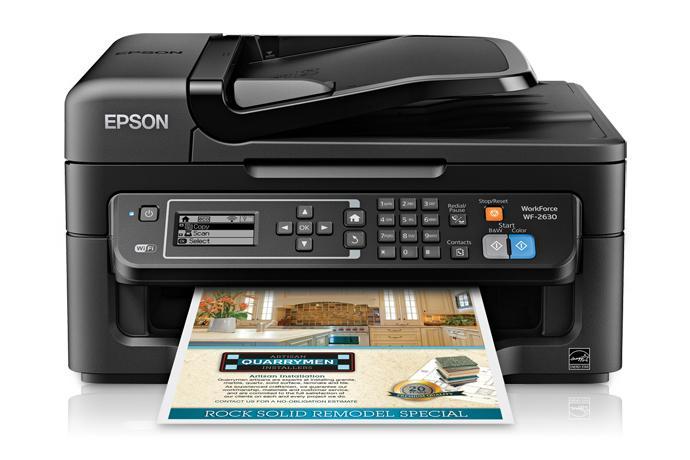 Epson WorkForce WF-2630 All-in-One Printer | Inkjet | Printers | For Work | Epson US
