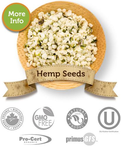 Hemp Seeds - River Valley Specialty Farms