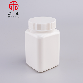 Empty square HDPE plastic pill bottle for sale, View square pill bottle, MAIHE Product Details from Zhejiang Maihe Trading Co., Ltd. on Alibaba.com
