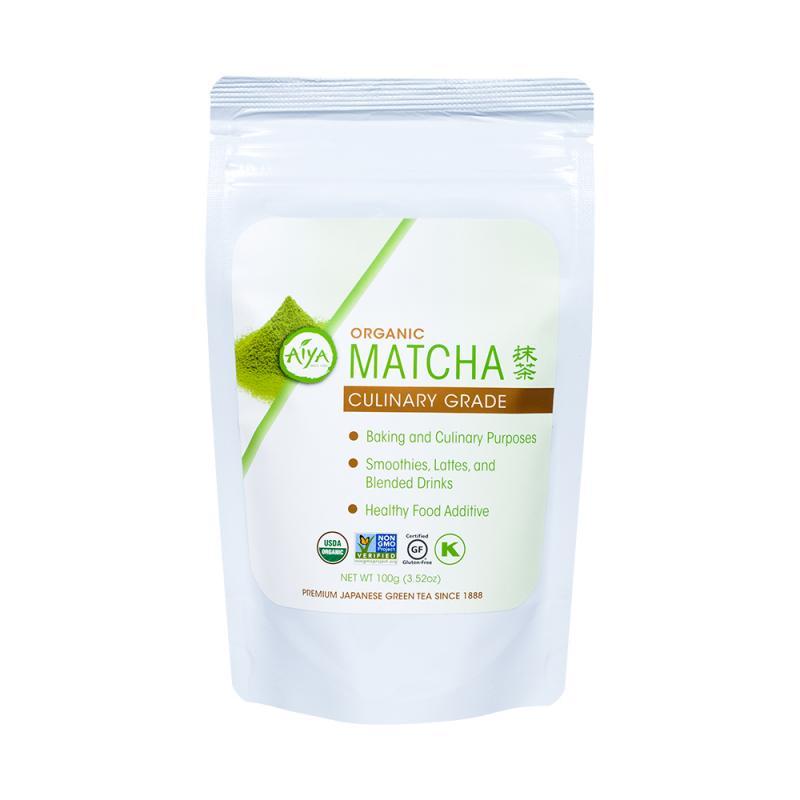 Organic Culinary Grade Matcha (100 gram Bag) | Aiya Matcha