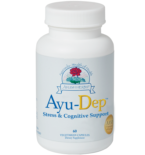 Ayu-Dep™ (60) | Ayush Herbs | Ayurvedic Herbal Medicine
