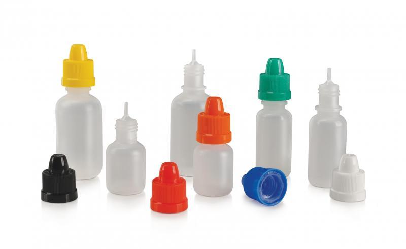 Comar Total Dispensing Systems; dropper bottles