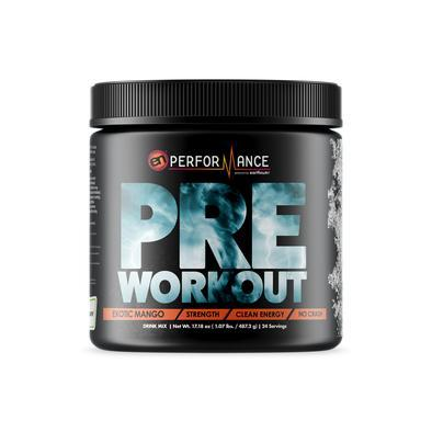 Pre-Workout Supplement Mango Lemonade – EarthNutri