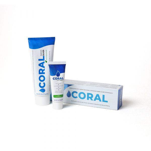 Coral NanoSilver Toothpaste Mint - Coral Calcium